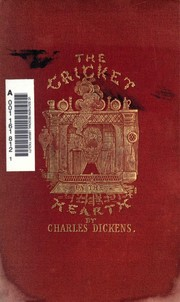Cover of: The Cricket on the Hearth | Charles Dickens