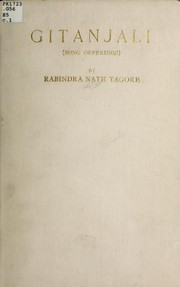 Cover of: Gitanjali (song offerings) | Rabindranath Tagore