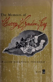Cover of: Barry Lyndon | William Makepeace Thackeray