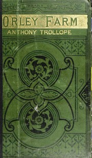 Cover of: Orley Farm | Anthony Trollope