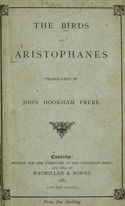 Cover of: Birds | Aristophanes