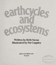 Cover of: Earthcycles and Ecosystems | B. Savan