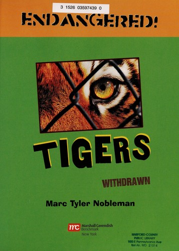Tigers by Marc Tyler Nobleman