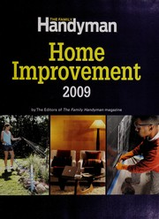 Readers digest complete do it yourself manual open library the family handyman home improvement 2009 solutioingenieria Image collections