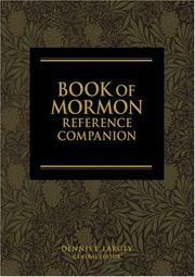 Cover of: Book of Mormon Reference Companion by Dennis L. Largey