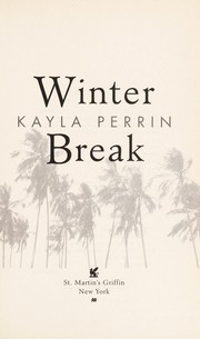 Cover of: Winter break | Kayla Perrin