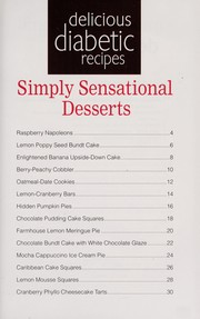 Cover of: Simply sensational desserts |