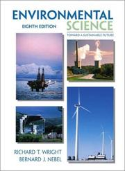 Cover of: Environmental science by Richard T. Wright