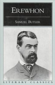 Cover of: Erewhon (Literary Classics (Prometheus Books)) | Samuel Butler