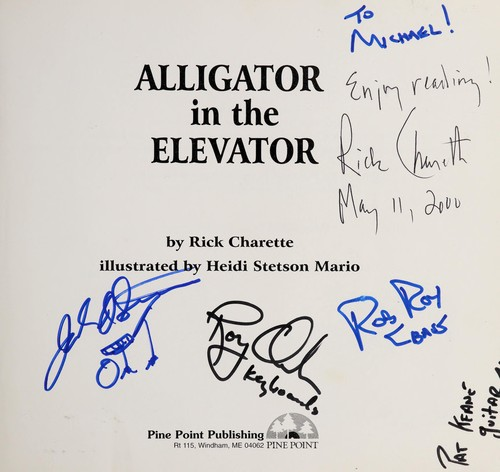 Alligator in the Elevator by Rick Charette