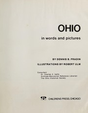 Cover of: Ohio in words and pictures | Dennis B. Fradin