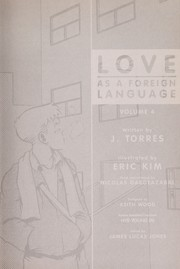 Cover of: Love as a foreign language | J. Torres