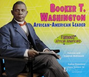 Cover of: Booker T. Washington | Pat McKissack