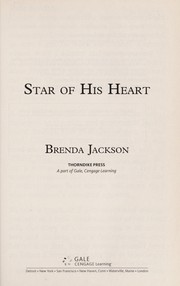 Cover of: Star of his heart | Brenda Jackson