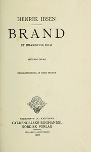 Cover of: Brand | Henrik Ibsen