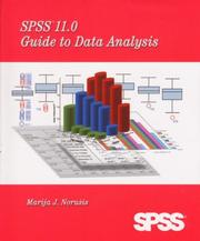Cover of: SPSS 11.0 Guide to Data Analysis | Marija J. Norusis, M. J. Norušis