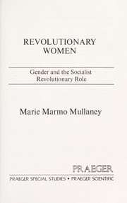 Cover of: Revolutionary women | Marie Marmo Mullaney