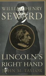 Cover of: William Henry Seward by Taylor, John M.