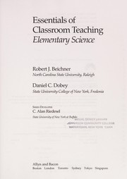 Cover of: Essentials of classroom teaching | Robert J. Beichner