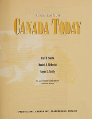 Cover of: Canada today | Carl F. Smith