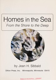 Cover of: Homes in the sea | Jean H. Sibbald