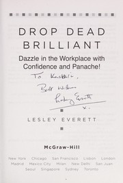 Cover of: Drop dead brilliant | Leslie Everett