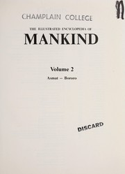 Cover of: The Illustrated Encyclopedia Of Mankind Volume 6 | Not Listed
