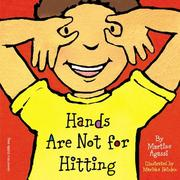 Cover of: Hands are not for hitting | Martine Agassi
