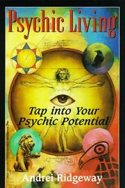 Cover of: Psychic Living by Andrei Ridgeway
