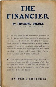 Cover of: The Financier | Theodore Dreiser