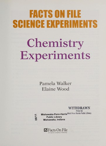 Chemistry experiments by Pam Walker