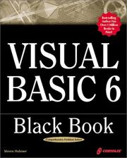 Cover of: Visual Basic 6 black book by Steven Holzner