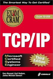 Cover of: MCSE TCP/IP Exam Cram 3E (Exam: 70-059) | James Michael Stewart