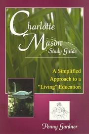 Cover of: Charlotte Mason study guide by Penny Gardner