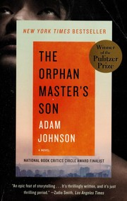 Cover of: The Orphan Master's Son | Adam Johnson