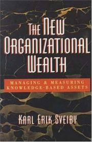 Cover of: The new organizational wealth | Karl Erik Sveiby