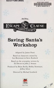 Cover of: Saving Santa's workshop | James Ponti