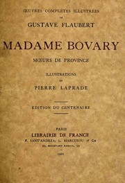 Cover of: Madame Bovary | Gustave Flaubert