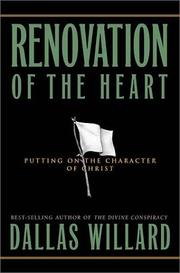 Cover of: Renovation of the Heart by Dallas Willard