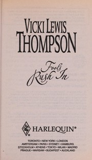 Cover of: Fools rush in | Vicki Lewis Thompson