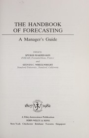 Cover of: The Handbook of forecasting : a manager's guide |