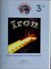 Cover of: Iron | Irene M. Franck, David M. Brownstone