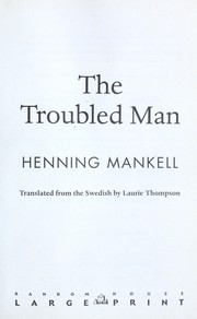 the troubled man mankell henning thompson laurie
