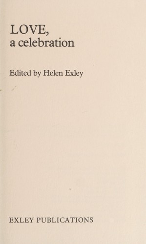 Love, a celebration by Helen Exley