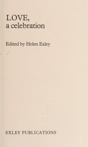 Cover of: Love, a celebration | Helen Exley