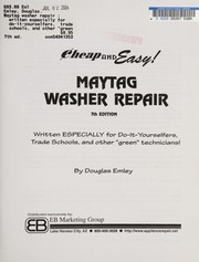 Cover of: Maytag washer repair | Douglas Emley