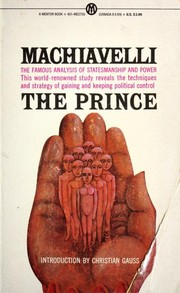 Cover of: The Prince (Mentor) | Niccolò Machiavelli