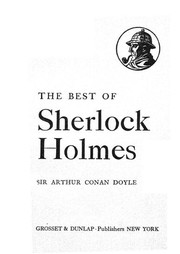 Cover of: The Best of Sherlock Holmes (A Study in Scarlet / A Scandal in Bohemia / The Red-Headed League / The Sign of the Four / The Boscombe Valley Mystery) | Arthur Conan Doyle