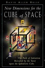 Cover of: New Dimensions for the Cube of Space | David Allen Hulse