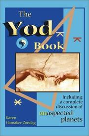 Cover of: The Yod Book | Karen Hamaker-Zondag